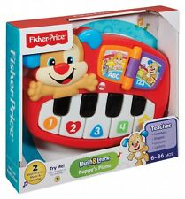 Fisher Price Laugh N Learn Puppy's Piano-Nuevo