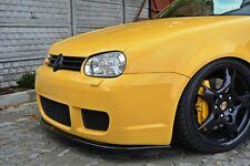 Cup Spoilerlippe schwarz für VW Golf 4 IV R32 Lippe Spoiler Diffusor schwert ABS
