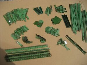 JOB LOT MECCANO VINTAGE MECCANO GREEN MECCANO SET