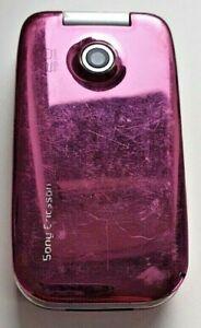 Sony Ericsson Z610i - Pink (Three) Mobile Phone, UK Seller