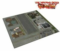 The Walking Dead, All Out War Miniatures Game: Deluxe Mat Woodbury