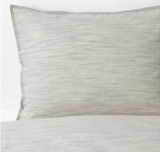 IKEA skogsalm Set Piumone Doppio, 4 federe, beige/grigio, 200x200 CM, NUOVA CON ETICHETTA