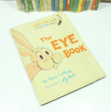 The Eye Book Theo LeSieg (Dr. Seuss) 1968 1st Edition w/Dust Jacket BE2 VG