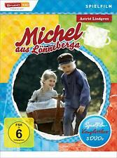 Astrid Lindgren: Michel aus Lönneberga - Spielfilm-Komplettbox [3 DVDs/NEU/OVP]