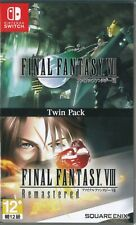 Final Fantasy VII & VIII Remastered Twin Pack Asia Japanese/English subtitle NS