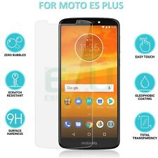 2 x 0.3mm Clear Flat Tempered Glass Screen Protectors For Motorola Moto E5 Plus