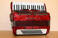 Scandalli Vintage Accordion 80 Bass Akkordeon Fisarmonica Custom Built