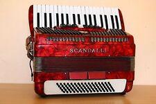 Scandalli Vintage Accordion 80 Bass Akkordeon Fisarmonica Custom Built