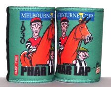 Melbourne Cup - Phar Lap Cartiture Stubby holders x 2