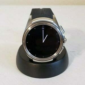 LG WATCH URBANE 2ND EDITION 4G LTE W200A 44.5mm STAINLESS STEEL CASE BLACK BAND