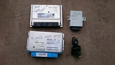 BMW E46 330i M54 AUTO ENGINE ECU, EWS, BOX ECU, IGNITION LOCK, Pt No 12147545672