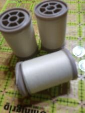 Coats & Clark Dual Duty XP HEAVY Thread Lot of 3 spools  125 YD EA CREAM