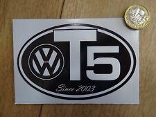 VW T5 Since 2003 - Sticker Volkswagen DUB Surf Transporter Camper Van Etc