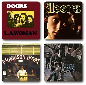 The Doors 4 Piece Coaster Set