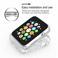 Cover For Apple Watch Series 2 / 3 38mm / 42mm Case Cover Protector TPU Bumper