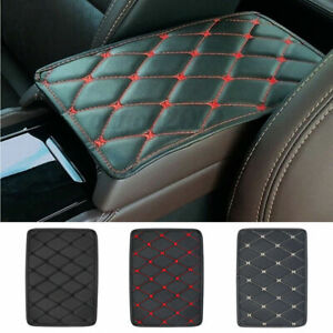 Auto Armrest Pad Cover Center Console Box PU Leather Cushion Mat Car Accessories