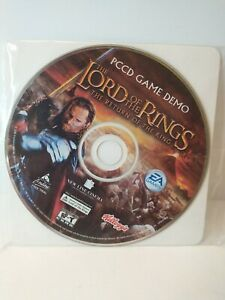 The Lord of the Rings The Return of The King Kellogg's PCCD Game Demo
