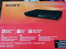 Sony DVP-SR 170 DVD Player schwarz NEU OVP