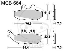 TRW Brake Brake Pad Standard mcb664 Motorcycle Brake Pads