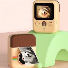 Kids Camera Instant Print Digital Camera Hd 1080P + W/3*Thermal Paper Cam Us