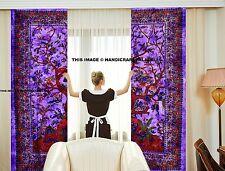 tree of life tapestry Indian Curtain Throw Mandala Curtains Window Drapery Decor