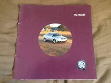 2005 VW Volkswagen Passat USA Market Brochure Catalog Prospekt