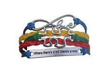 Autism Bracelet, Autism Awareness Jewelry, Autism Where There is a Will There is
