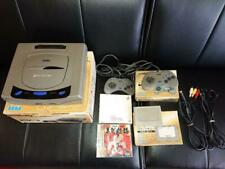 SEGA SATURN Console Boxed Bundle 2 Controller & Cables with 9 Game Work Fully