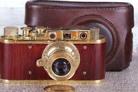 Leica II D D.R.P. Camera Ernst Leitz Wetzlar Exclusive Vintage (zorki copy)