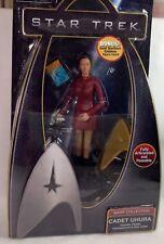 STAR TREK Cadet Uhura with Phaser Communicator & Data Tablet Figurine BRAND NEW
