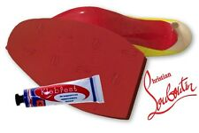 Christian Louboutin shoes rojo de reemplazo Stick en suelas & Pegamento. hágalo usted mismo de reparación de calzado