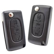 Key Shell Replacement For Citroen C2 C3 C4 C5 C6 C8 Remote Case VA2 Blade CE0523