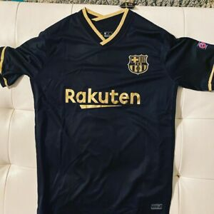 Messi Barcelona Away Black Jersey 2020-21 (xl)