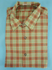 Shirt men's TRUE VINTAGE 1950s 50s DEADSTOCK worker chore Size M (HV1605*)