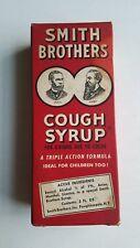 Antique Smith Brothers Cough Syrup Rare NOS