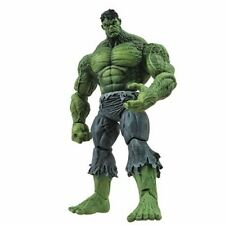 """Marvel Select Red Incredible Hulk 9"""" Action Figure 2019 With Stand 1st"""