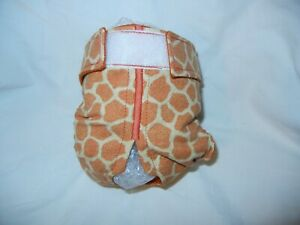 Female Dog Puppy Pet Diaper Washable Pants Sanitary Underwear GIRAFFE XSMALL