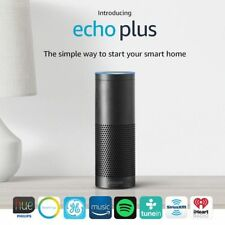 NEW! Amazon Echo Plus with Built In Smart Hub & Alexa (Black)