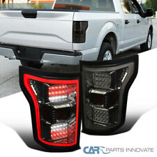 For Ford 18-20 F150 Smoke Parking Tail Lights Brake Lamps with Full LED DRL Bar