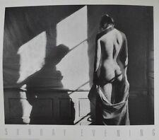Christian Coigny domenica sera poster immagine stampa d'arte 50x58cm SPEDIZIONE GRATUITA