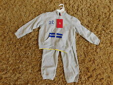 NWT $92 OFFICIAL FERRARI BOYS toddler CHILD SWEATSUIT TRACKSUIT small  3 - 4 YRS