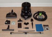 Black Edition Rexair Rainbow Vacuum Cleaner Set - Complete w/ New HEPA Filter