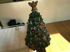 "San Francisco Music Box "" Victorian Tree Figurine ""12 Days of Christmas Rotating"
