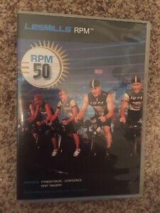 Les Mills RPM 50 CD, DVD, Notes cycling spinning