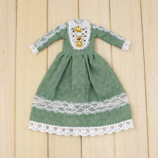 "Takara 12"" Blythe Doll Sweet Outfits-The Long Summer Green Dress"