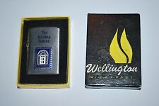 Vintage Wellington Lighter Flip Top Windproof The Mailing House Mint In Box