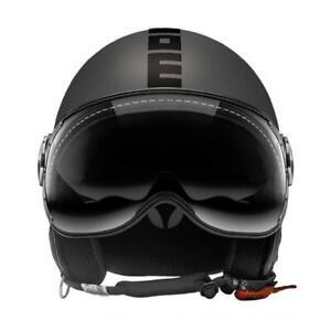 Momo design Helm Jet Fgtr Evo Titan Frost Doppelt Visier Größe M