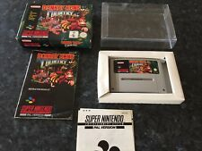 Donkey Kong Country! Super Nintendo SNES Boxed PAL *Complete* Excellent Con 😃