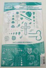 New Screen Sensation Sugar Skull Embellishment A4 Stamp Set 443636 - 55 Pieces
