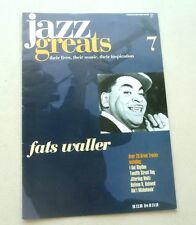 FATS WALLER  JAZZ GREATS THEIR LIVES THEIR MUSIC THEIR INSPIRATION